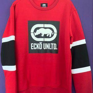 NWT Men's Ecko Unltd Sweatshirt Size M - Red